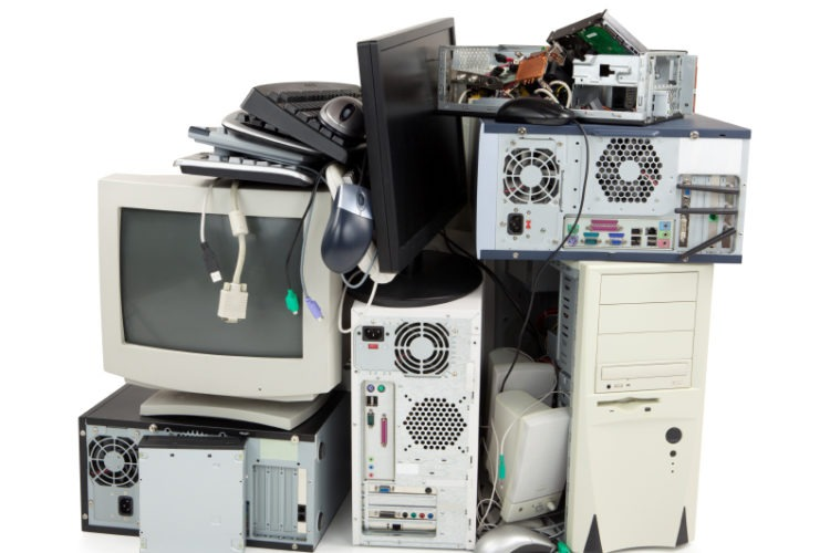 recycled electronics